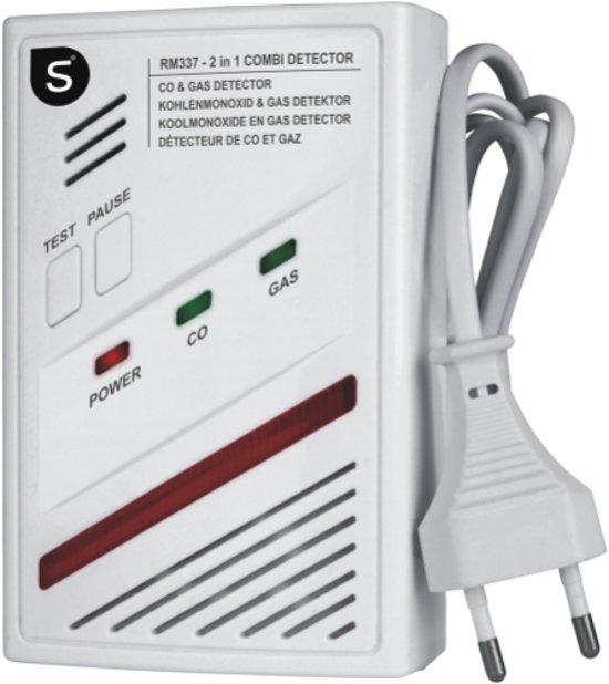 smartwares koolmonoxide gasmelder 2 in 1